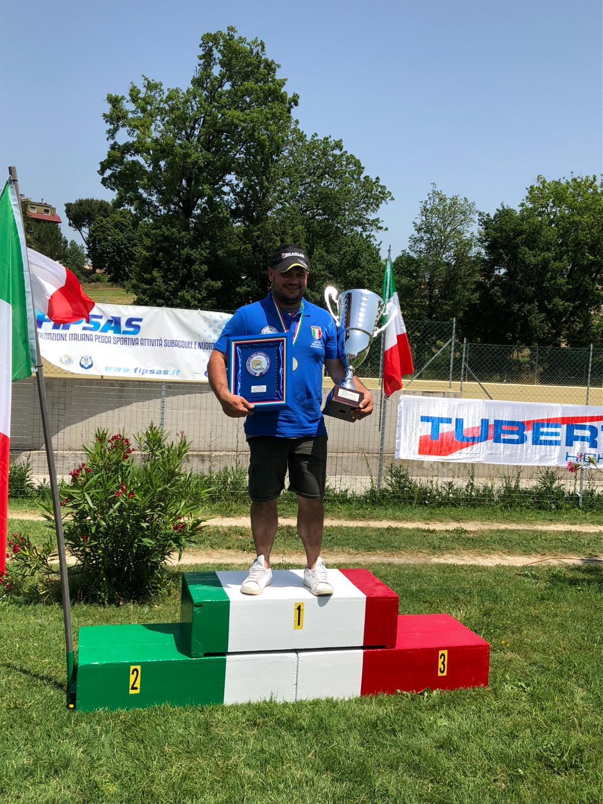 Antonelli Matteo campione italiano 2019
