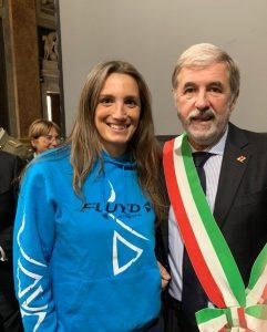 MARTINA MONGIARDINO PREMIATA A GENOVA CON IL PREMIO INTERNAZIONALE DELLO SPORT