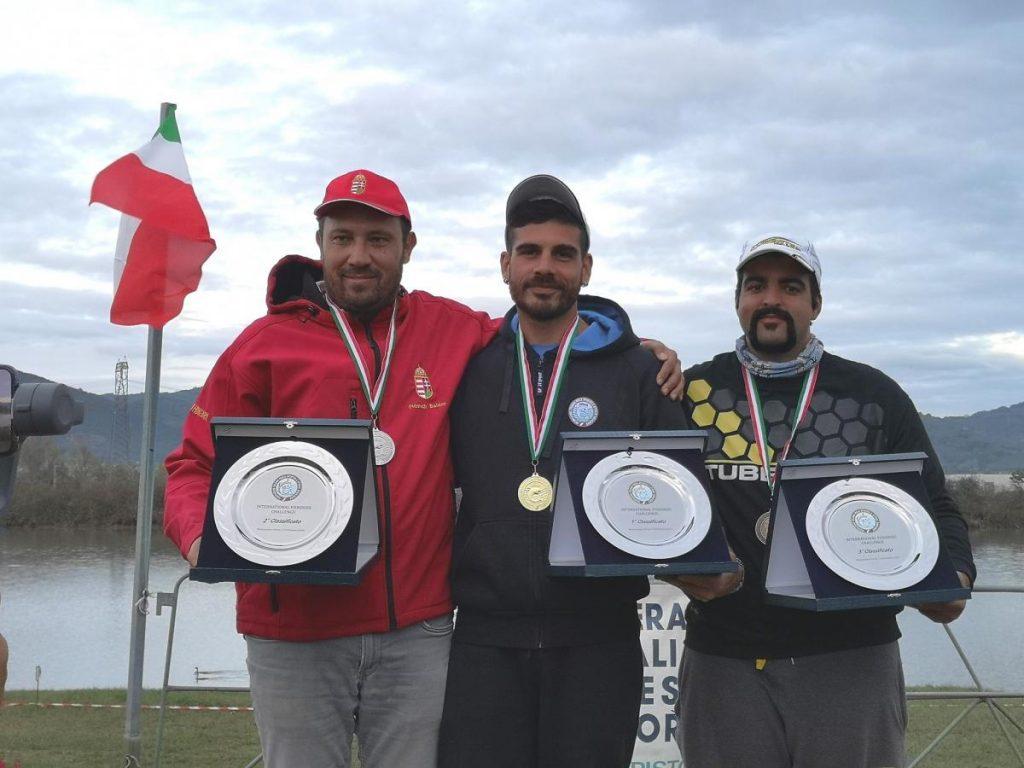 INTERNATIONAL FISHERIES CHALLENGE: VINCE IL TEAM UNGHERIA,BRONZO TEAM ITALIA,ORO INDIVIDUALE PER ETTORE CIOTTI